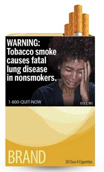 FDA Cigarette Warning Label 1