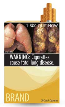 FDA Cigarette Warning Label 5