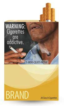 FDA Cigarette Warning Label 8