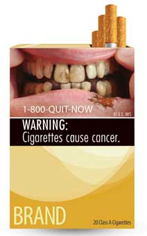 FDA Cigarette Warning Label 9