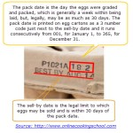 Egg - Packaging Date