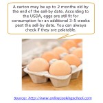 Eggs: Shelf Life?